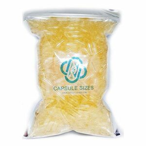 Gélules de gélatine vides Taille 00 X 1000