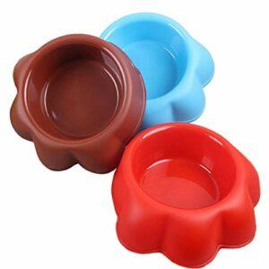 Keneke Gamelle en plastique épais pour animal domestique – Gamelle simple et portable – Gamelle pratique pour chiot, chat, eau