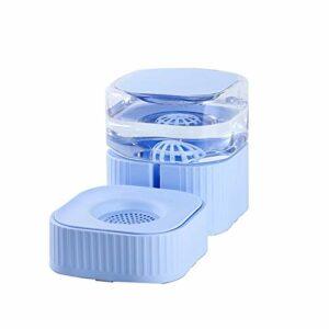 Lanhan Supplies Mangeoires automatiques pour chat avec distributeur d'eau pour chien/chat de petite et grande taille Bleu 1,8 l
