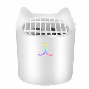Mini lampe portable USB anti-moustiques pour chat – Silencieux – Répulsif anti-moustiques – Économie d'énergie