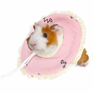 NCONCO Collier de récupération anti-morsure pour petits animaux lapins cochons d'Inde hamster