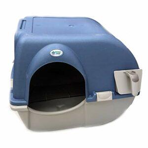 Omega Paw Roll n' Clean Litière autonettoyante pour chat Taille L