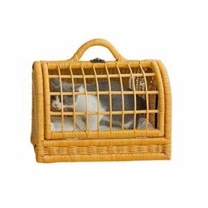 Sac pour animal de compagnie / maison pour chat, villa semi-fermée pour toutes les saisons amovible et lavable avec coussins sac à dos pour chat boîte pour animal de compagnie sac à main cage pou