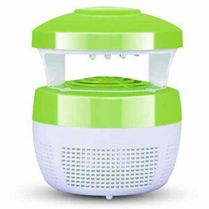 KOIJWWF Lampe Anti-Moustique, répulsif Anti-Moustique enfichable USB muet sûr et Non Toxique, pour mère et bébé Maison intérieur Chambre Jardin Cour,Vert