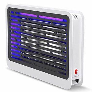 KOIJWWF Zapper électrique Anti-Mouches avec Ampoules UV Brillantes, Zone Anti-Moustique de 10 à 100 mètres carrés, éloigne Les Mouches, Les Insectes, Les moustiques et Les guêpes,36.5 * 26.8 * 6.5cm
