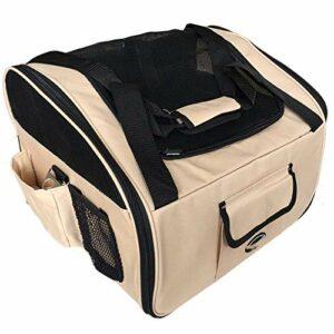 LEIJINGZI Featured Goods Bag de voiture for animaux de compagnie Sac de voiture Kennel Out Pet Sac Dog Sac à dos de chien Tapis de chiot Imperméable petit chien Chippy chat Chaton Carrier de voyage fo