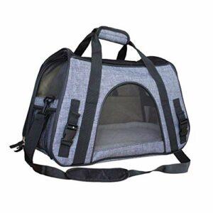 LEIJINGZI Featured Goods Carrier de compagnie for chiens et chats, cage souple for animaux de compagnie, sac portable ou bandoulière dans un tissu de transport confortable, équipé d'une bandoulière et
