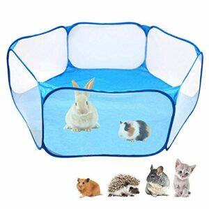 LEIJINGZI Featured Goods Tente de cage for animaux de compagnie, animal de compagnie respirant Pop ouverte en plein air / intérieur Clôture d'exercice, clôture de jardin portable for chat, chien, coba