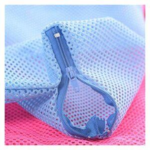 PJFYMG Sac de Bain de Chat en Maille Chats Chats Sacs de Lavage pour Animaux de Compagnie Baignage Target d'injectation Anti-Rayures (Color : Blue)