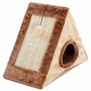 DFSDG Animal De Compagnie Chat Arbre Maison Chat Escalade Cadre Chat Planche À Gratter Chat Table Escalade Cadre Animal Chat Jouet Chat Chaton Maison (Color : A, Size : Small)