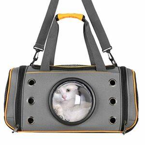 GreeSuit Sac de transport souple pour animal domestique – Sac de transport respirant pour chats et chiens de petite taille, approuvé par les compagnies aériennes