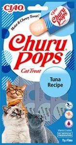 INABA Churu Pops – Friandises à Main pour Chats – Délicieux, Savoureux Snacks pour Chats – Thon