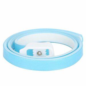 Jeanoko Collier réglable lavable bleu pour chat de petite taille et poids léger pour repousser les insectes et enlever les puces (grand)