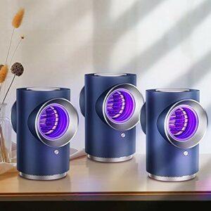 Lampe Anti Moustique Électrique,Lampe Anti Moustique,Lampe anti-moustique silencieuse intérieure,Réduction bruit silencieuse,Forte aspiration,Petit et léger,Facile à Utiliser,Deux options couleurs