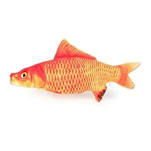 LIUYB 60cm Big Fish Shape Toys de Chat pour Chats Peluche Catnip Mint en Peluche Jouet Peluche Puppy Chat Jouet Jouet Animaux Accessoires pour mascotas (Couleur : 9, Taille : 30cm)