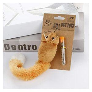 LIUYB Peluches Souris Shape Toys de Chat pour Chats Catnip Cat Cat Jouet Interactive Gatos Productos Para Mascotas Chat Katten Marchandises pour Animaux domestiques