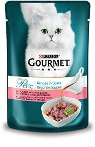 Nestlé Gourmet Perle la Passion en Sauce pour Chat, Lot de 24(24x 85g)