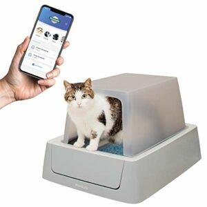 PetSafe ScoopFree Bac à litière auto-nettoyante pour chat avec application Smart Phone Système automatique connecté