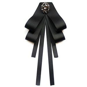Wusuowei Demi-chemise amovible en dentelle florale ajourée pour femme