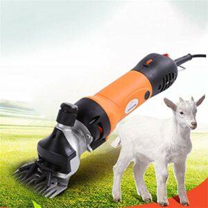 ZZQ-Le rasage 690W Cheveux Tondeuse Mouton Animal pour Électrique Professionnelle Cisaillement Animal Tondeuse Cisaille À Mouton Tondeuse Moutons 6 Vitesse Réglable avec Valise