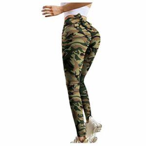 CPNG Legging de yoga extensible pour femme – Taille haute – Multicolore – M