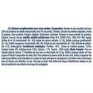 DENTALIFE – Friandises pour Chat Au Poulet 40G – Lot De 2