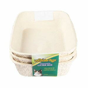 Kitty's WonderBox Litière jetable Taille Moyenne 3 pièces
