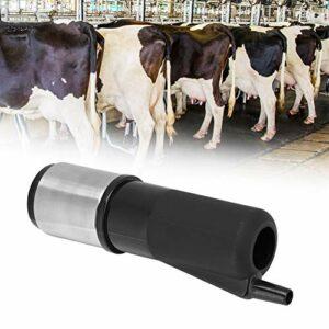 Tasse de machine à lait, pièce d'accessoire de machine à traire de tasse de griffe matière plastique de protection de l'environnement pour les fermes, usines de produits laitiers(Black (HL-MP27B))