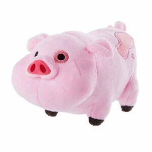 Bontannd 1pc De Jouets en Peluche Gravity Chutes Dandine Dipper Mabel Pink Pig Poupées Et Stuffe Dandine en Peluche Douce Poupées Enfants Et Cadeaux d'anniversaire