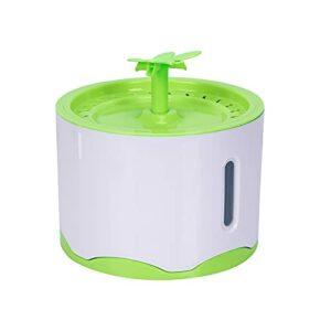 Fiorky Fontaine à eau automatique pour chat 2,6 l ultra silencieuse avec veilleuse