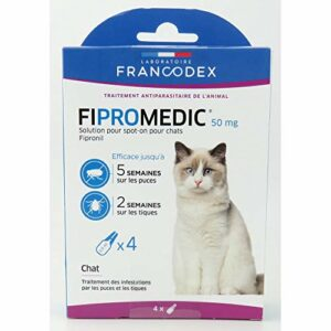 Francodex Fiproline chats – 4 pipettes