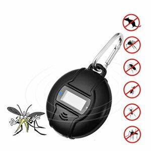 HAR Anti-Moustiques Portable, Extérieur À Ultrasons Insectifuge-Home Anti-Moustiques Intelligent, Utilisé pour Les Abeilles, Les Moustiques, Les Blattes, Araignées, Mouches