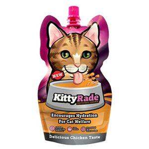 KittyRade – Boisson isotonique de réhydratation pour Chat – Pack de 10 x 250 ML