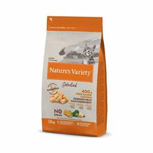 Nature's Variety Selected Croquettes pour Chat avec Poulet Désosé 1,25 kg 1 Unité