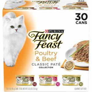 SNUNGPHIR Purina Fancy Feast Natural Wet Cat Food Variety Pack