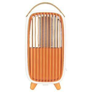 XCYG Tueur de moustiques électrique USB Domestique, Tueur de moustiques Violet Clair 3500v, avec boîte de Rangement détachable pour moustiques, adapté à la Voiture de Bureau à Domicile,Orange