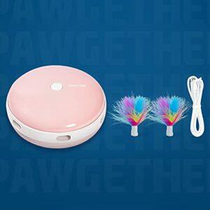 YHSW Jouet Laser Chat Automatique,Jouet interactif Chaton/Chien,Chargement USB,Rotation aléatoire à 360 °,Trois Modes d'éclairage réglables,d'exercice pour Animaux de Compagnie