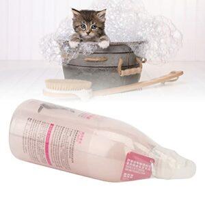 01 Shampooing pour Chat, shampooing Anti-odeurs pour Chat soulageant Les démangeaisons moussant Rapidement avec des minéraux de sel de mer pour Le Bain