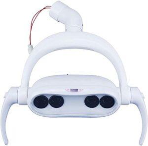 LXNQG Réglable Dental LED Lampe à Induction orale 20W Lampe Froide Lampe Shadowless Lampe – pour Chaise Dentaire Chaise chirurgicale Orale Lampe Chaise Dentaire Accessoires, 26mm (Size : 22MM)