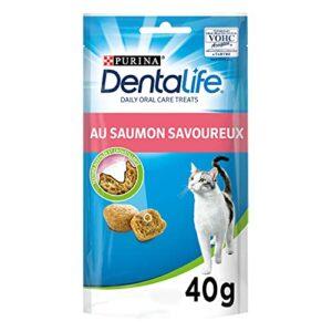DENTALIFE – Au Saumon – 40g – Friandises pour chat adulte