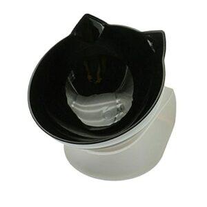 Double bol anti-dérapant pour animaux de compagnie rehausser le bol à boire pour récipient de nourriture avec support bol d'alimentation en plastique pour bassin de chat pour animaux de compagnie