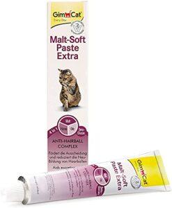 GimCat Pâte Malt-Soft Extra – Anti-Hairball Snack pour chats, favorise l'élimination des boules de poils – 1 tube (1 à 100 g)
