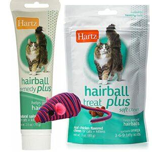 Hair Ball Remedy Plus Pack Couleur : pâte/friandises/souris hypno