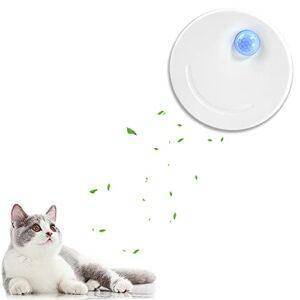 HXPainting Déodorant litière pour Chat, Absorbeur d'odeur Automatique, alimentée par USB Batterie 2600mAh intégrée Alimenté, sans Parfum, Non Toxique, Convient pour Toilettes, Armoire, Cuisine