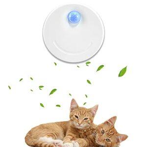 HXPainting Smart Désodorisant pour Litière pour Chats,Batterie 2600mAh intégrée Alimenté par USB Désodorisant pour Toutes Sortes de Boîte de Litière de Chat