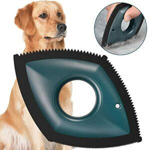 Junerain Mini brosse pour enlever les poils d'animaux domestiques – Facile à nettoyer