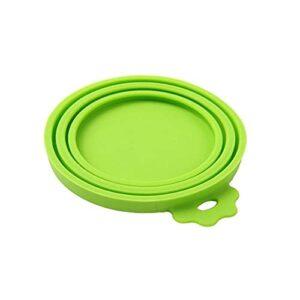 shuibaobao Couvercle portable en silicone pour chien et chat Couleur : vert