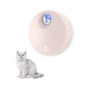Sumbee Déodorant litière pour chat, Absorbeur d'odeur automatique, alimentée par USB, Sans parfum, non toxique, Convient pour toilettes, armoire, cuisine – rose