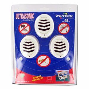 WEITECH WK3523 Lot de 3 CHASSES RONGEURS ET Insectes