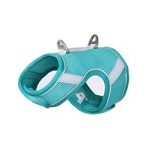 Crea Birba Harnais pour chat et chiens de petite taille avec laisse Harnais réglable réfléchissant, respirant et doux Fermeture Velcro Sac inclus